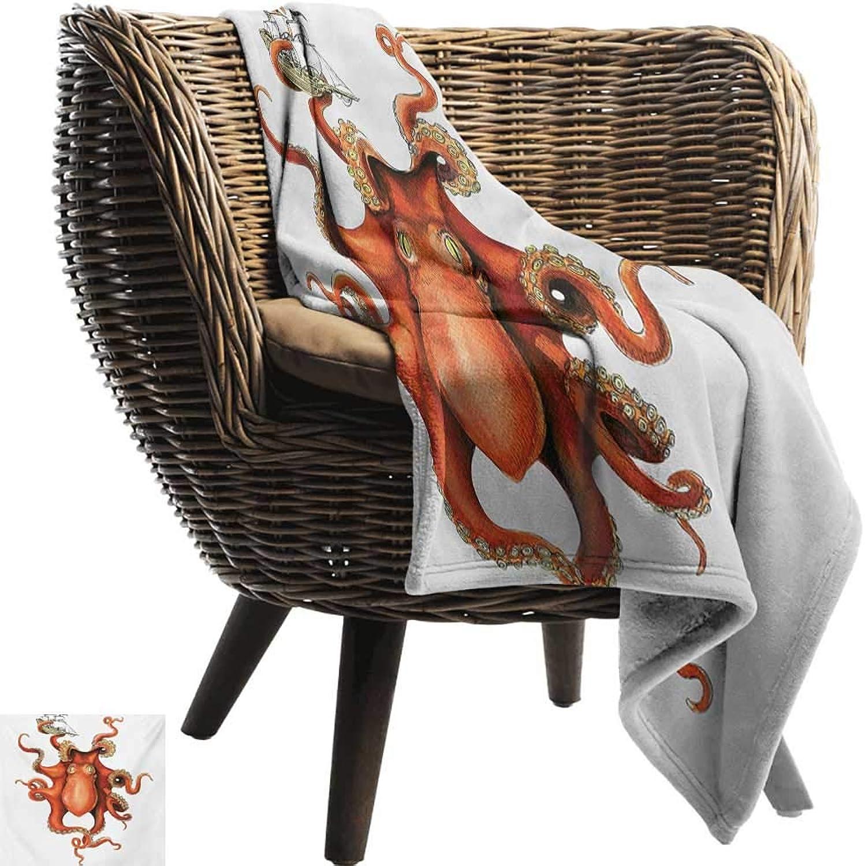 Weighted Blanket for Kids,Octopus,Kraken Octopus Holding