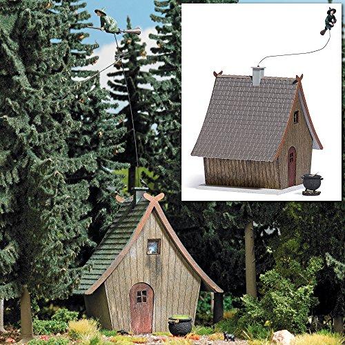 Busch 1679 Hexenhaus mit Fliegender Hexe