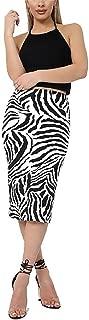 Best zebra pencil skirt Reviews