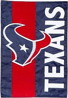 Team Sports America Houston Texans Embellish Reg Flag, Multicolor