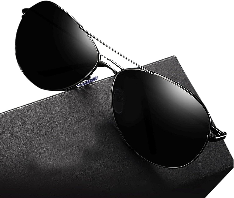 ZXCASD Gafas de Sol polarizadas Hombre Mujere Retro/Aire Libre Deportes Golf Ciclismo Pesca Senderismo 100% protección UVA Gafas Unisex Golf conducción Gafas Gafas de Sol