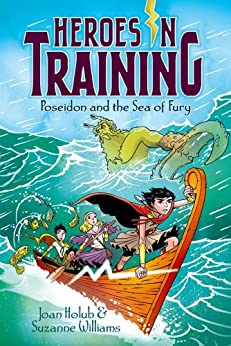 Poseidon and the Sea of Fury (Heroes in Training Book 2) by [Joan Holub, Suzanne Williams, Craig Phillips]