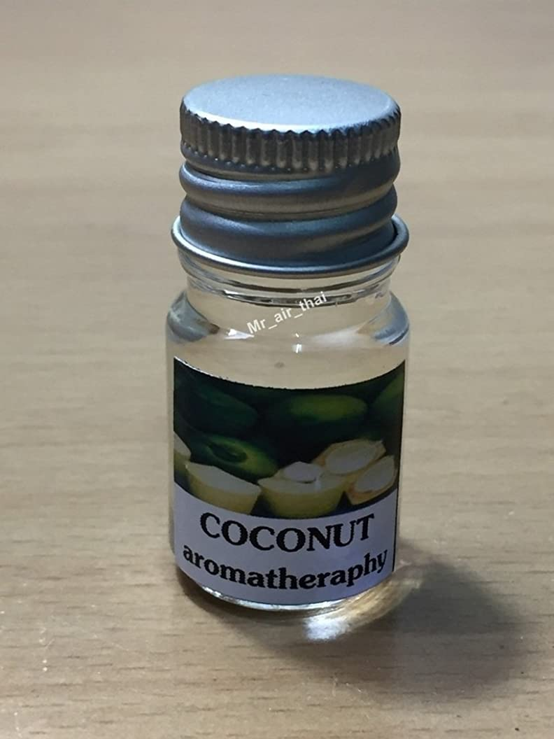 見捨てられたである驚いた5ミリリットルアロマココナッツフランクインセンスエッセンシャルオイルボトルアロマテラピーオイル自然自然5ml Aroma Coconut Frankincense Essential Oil Bottles Aromatherapy Oils natural nature