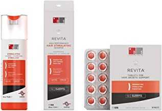 product image for Hair Thinning & Hair Growth Kit w/Revita Hair Stimulating Shampoo and Revita Hair Growth Supplement Tablets for Men & Women (All Types of Hair Loss)