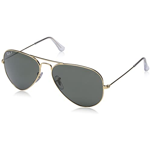 07d62c04ba5cd Ray-Ban 3025 Aviator Large Metal Non-Mirrored Polarized Sunglasses