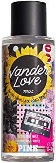 Victorias Secret Pink Wander Love New Summer Forever Scented Mists Fragrance Summer 8.4 Ounce