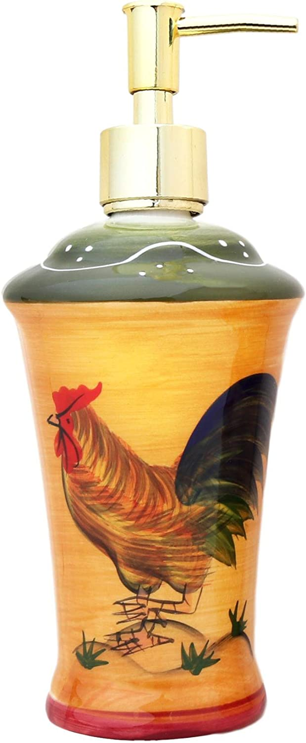 High order ACK Tuscan 2021 Sunshine Country Rooster Collection SOA Hand Painted