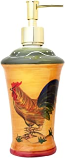 hand painted roosters