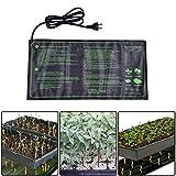 """Lembeauty Seedling Heat Mat, Durable Waterproof Hydroponic Seedling Plant Mat Warm Hydroponic Heating Pad for Indoor Outdoor Gardening, 10"""" x 20.75"""" -"""
