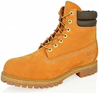 Men's 6 in Double Collar Boot Ankle, Wheat Nubuck