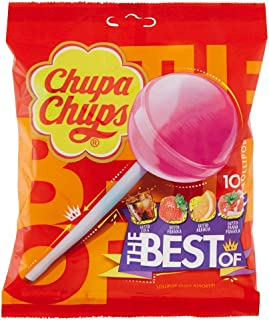 Chupa Chups Classic Lollipop Bags - 120 gm (Pack of 12)