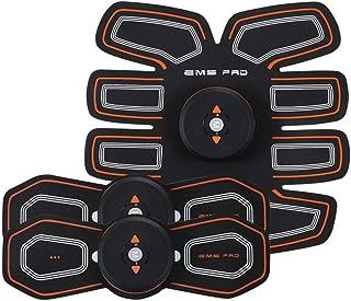 EMS AbsトレーナーAbベルト、腹部調色ベルト、腹筋刺激装置、ABSマシンAbベルト調色ジムワークアウトマシン用男性&女性 (Size : A)