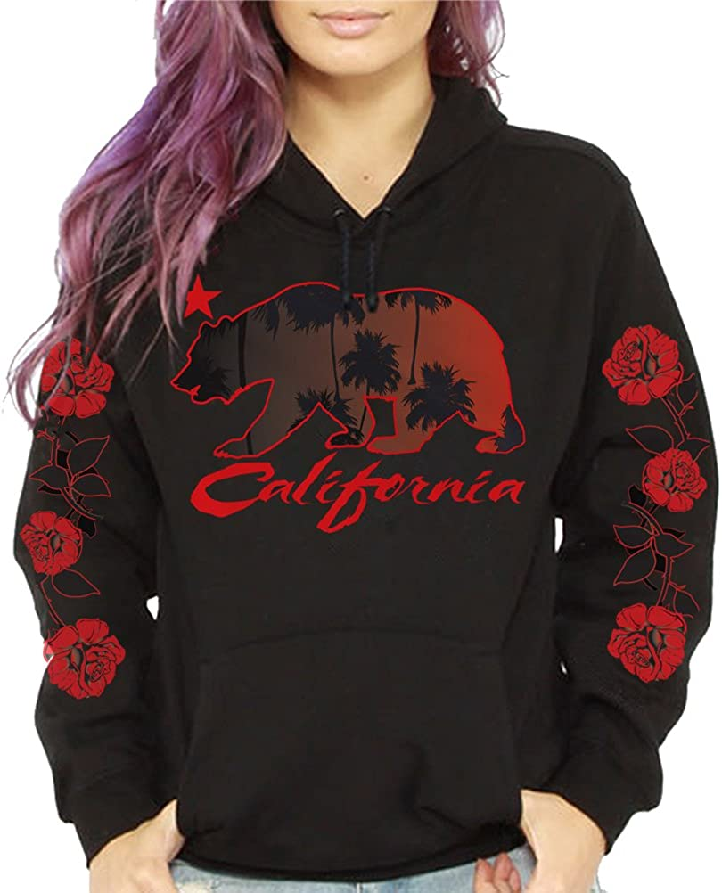 CaliDesign Women's California Sales Republic Tree Limited Special Price Pullover Palm Roses