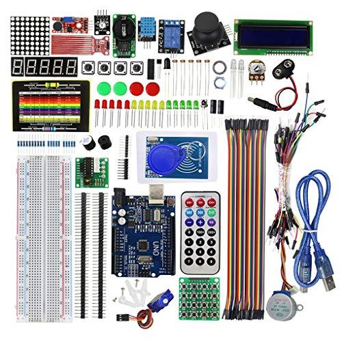 Kongnijiwa Modul Serie EL-KIT-008 groß2560 Projekt abgeschlossen ultimative Starter Kit w/Tutorial Kompatibel für Arduino UNO Nano