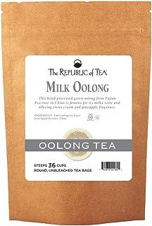 The Republic of Tea Milk Oolong Tea, 36 Tea Bag Bulk