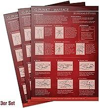[3er-Set] G-Punkt Massage Kurzanleitung (2021) - 23 Massage-Techniken für mehr Genuss beim Sex - Praktische Schnellübersic...