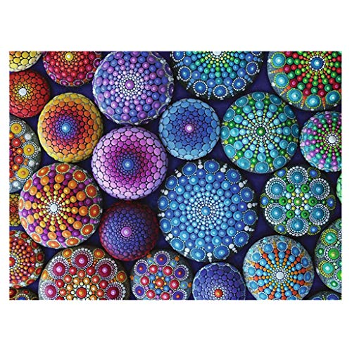 Haijun 5d Diamant Painting Flower Diamond - Kit de pintura para taladro para adultos con diamantes de bizarra