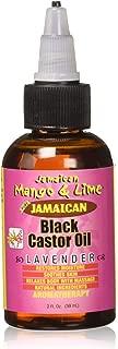 Jamaican Mango & Lime Black Castor Oil, Lavender, 2 Fl Oz
