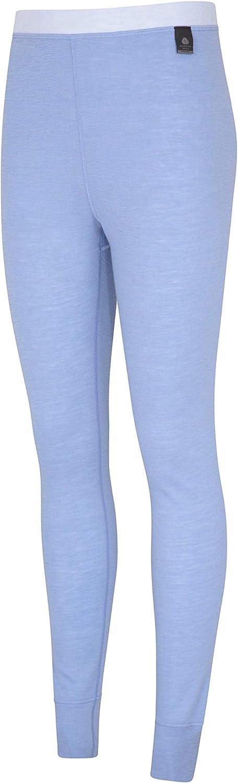 Haute Absorption antibact/érien Hiver Mountain Warehouse Pantalon Thermique Femmes en m/érino Entretien Facile Id/éal pour Voyager L/éger Respirant