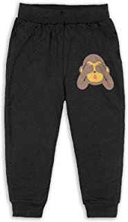 Easionerol Monkey Boys Long Sweatpants Jogger Trousers