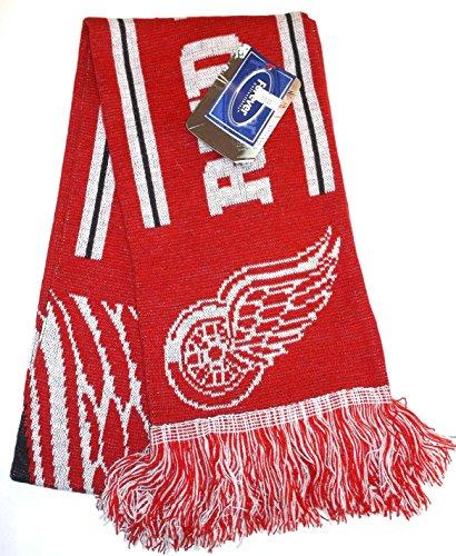 Detroit Red Wings 2011 Team Stripe Scarf