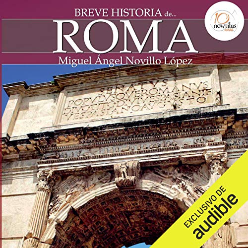 Breve historia de Roma audiobook cover art
