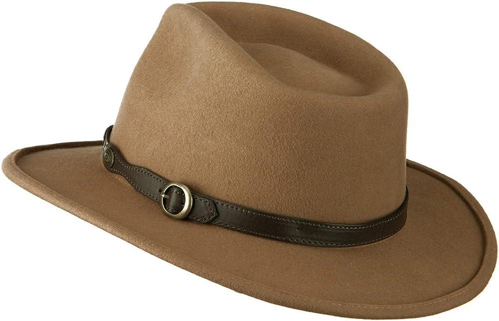 Jeanne Simmons Unisex Wool Felt Band Regular dealer Gifts Cowboy Leatherette Outback