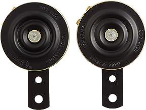 UNO MINDA 815043 K70 12V Horn (Yellow,Set of 2) (360/440 Hz, 105dB, 70mm Dia,Set of 2)