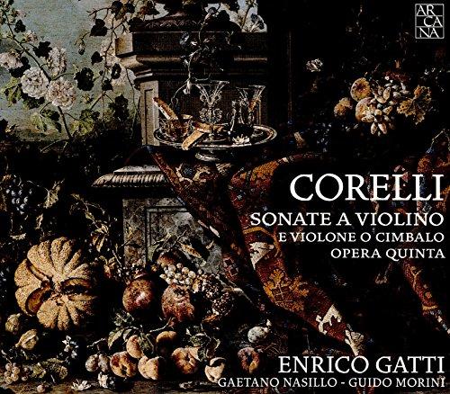 Corelli : Sonate A Violino E Violone O Cimbalo. Op.V