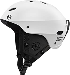 OutdoorMaster KELVIN Ski Helmet - with ASTM Certified Safety, 9 Options - for Men, Women & Youth