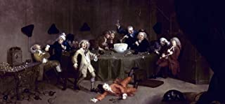 Hogarth Midnight 1731 Nwilliam Hogarth Midnight Modern Conversation Oil On Canvas C1731 Poster Print by (18 x 24)