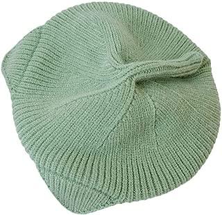 Xiang Ru Cute Cat Ear Baret Knitted Winter Warm Cap Beanies Green
