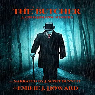 The Butcher audiobook cover art