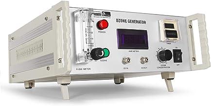 CGOLDENWALL Ozongenerator 7g/h Laboratorium Water Ozonator met 7,3-7,8 g/h Ozonproductie & 65-35 mg/l Concentratie voor Ri...