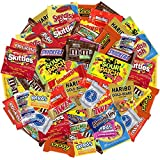 Bundle with American favorite Candy and Chocolate in a Pack Mix M&M's, Reeses, Snickers, Milky Way, Sour Patch, Twizzlers, Swedish Fish, Sweet Tarts & Nerds and More (2 Pound)
