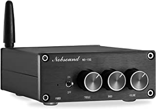 Nobsound 2 Channel Bluetooth 4.2 Amplifier , Class D Stereo Audio Amplifier , Mini Home Theater Power Amp , Digital Power ...