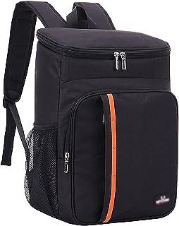 SLDHFE Sac à dos isotherme, léger, isotherme, étanche, sac à dos pour déjeuner, pique-nique, randonnée, camping, plage, pa...