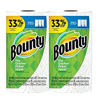 Bounty Select-A-Size 2-ply 96 sheets Paper Towel Big Roll - White - 2-Pack