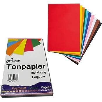 250 Blatt Tonkarton Tonpapier DIN A3 viele Farben 160g//qm Großhandelspackung