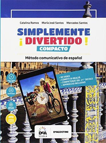 ¡Simplemente divertido! Compacto. Per la Scuola media. Con e-book. Con espansione online. Con formato audio MP3. Con Libro: En mapas. Con DVD-ROM [Lingua spagnola]