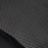 WAYBER Speaker Grill Cloth Stereo Mesh Fabric for Speaker Repair, Black - 55 x 20 in / 140 x 50 cm