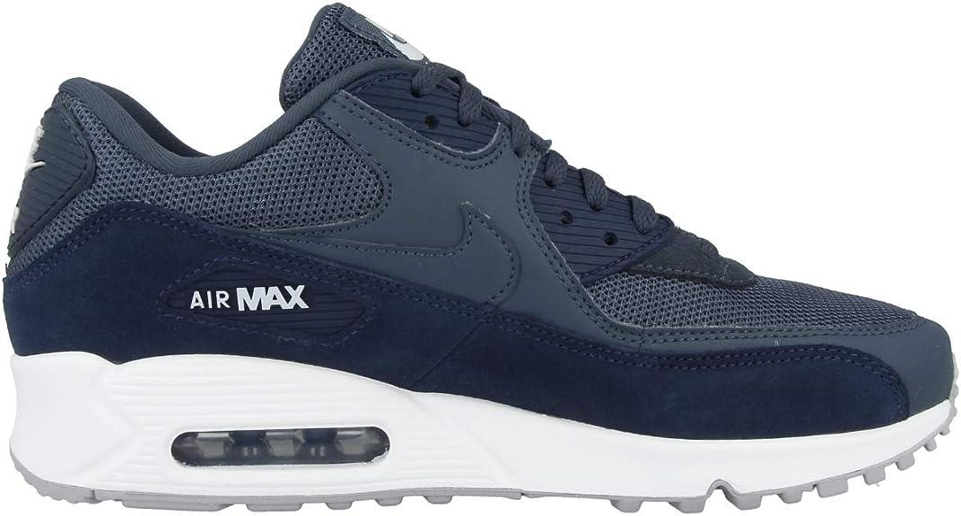 Nike Air Max 90 Essential Baskets basses - Bleu - Bleu monsoon ...