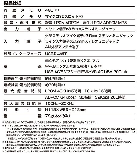 YAMAZENICレコーダーキュリオムYVR-R510L
