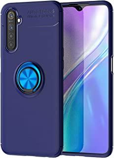 Wuzixi Case for Realme 6S,Ultra-thin shock-resistant TPU protective cover with anti-scratch,360-degree swivel ring,Cover f...