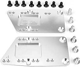 Gorgeri Conversion Motor Plate, Pair of LS1 Engine Swap Bracket Conversion Motor Mount Adjustable Plate