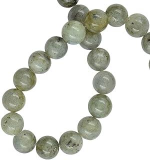 IPOTCH Piedras Preciosas Naturales De Labradorita 8 Mm Espaciador Suelto Beads Strand para Joyería Artesanal