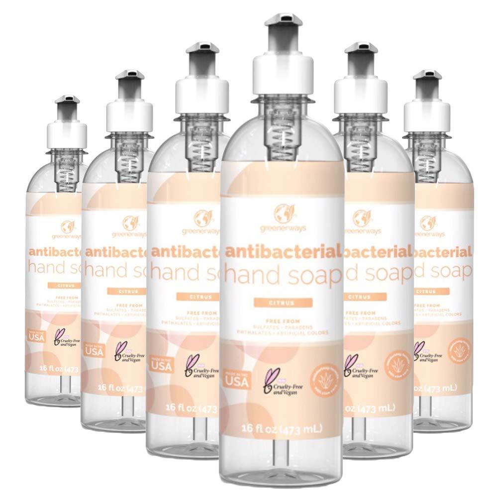 Greenerways Antibacterial Hand Soap Made New product type Liqui Citrus USA 1 year warranty in