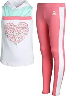Girls' Athleisure Printed Top and Legging 2 Piece Set