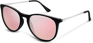 Vintage Round Polarized Sunglasses for Women Classic Retro Designer Style