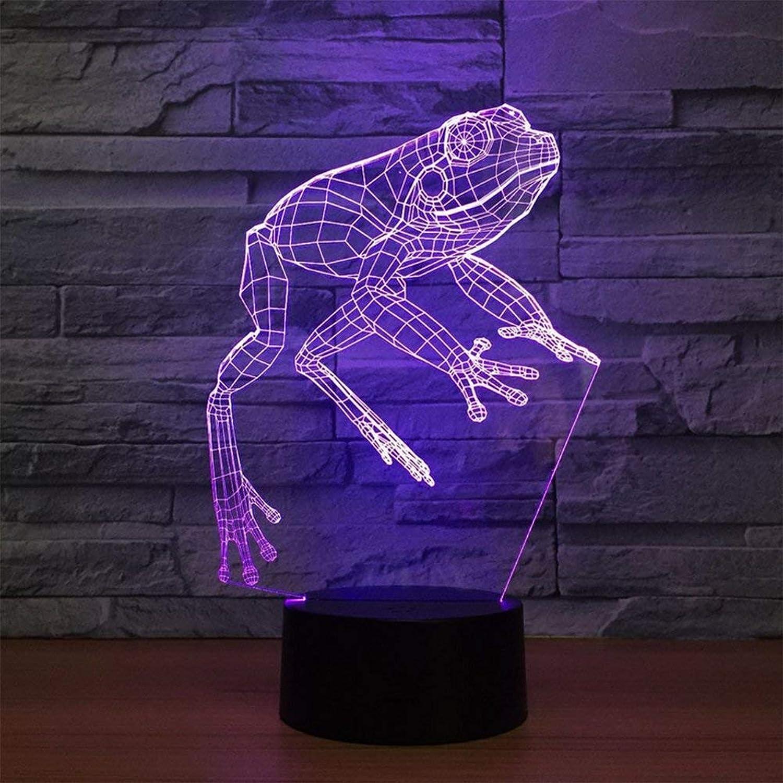 compras online de deportes MARCU Home 3D ilusión led led led lámpara de Mesa estéreo con 5 Colors gradiente luz Nocturna para el Dormitorio decoración del hogar Boda cumpleaños Navidad Regalo de San valentín  Nuevos productos de artículos novedosos.